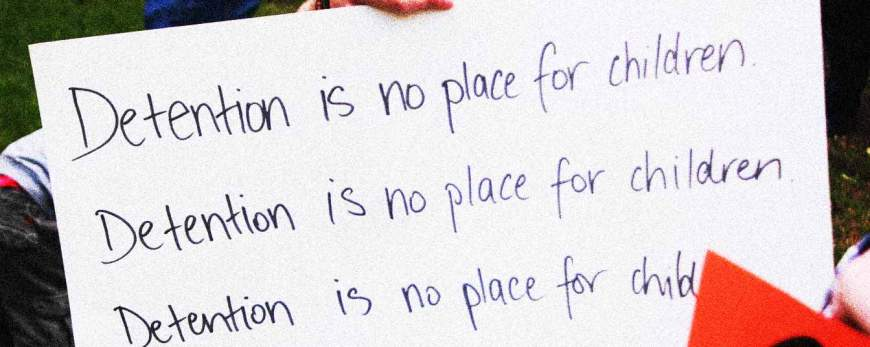 detention is no place for children
