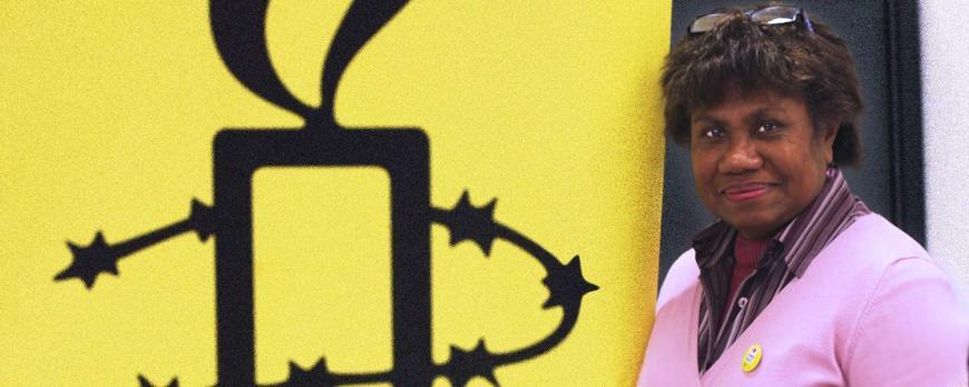 Amnesty International Isabelle Whitington