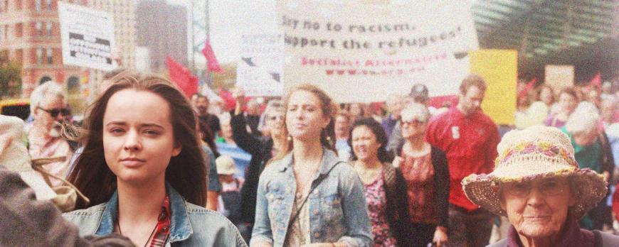 sydney refugee rally Isabelle Whitington